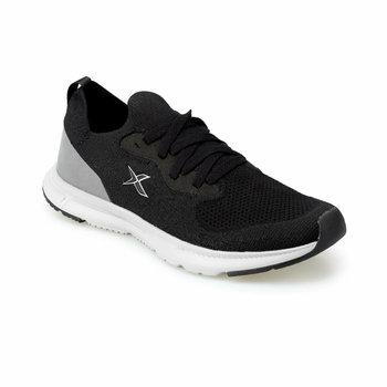 FLO CORSA czarne męskie buty do biegania KINETIX tanie i dobre opinie Sztuczna skóra