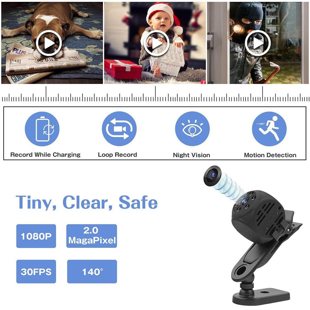 2020 új mágneses mini akció kamera vezeték nélküli kis - Kamera és fotó - Fénykép 2