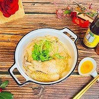 #太太乐鲜鸡汁芝麻香油#香油焗鸡的做法图解1
