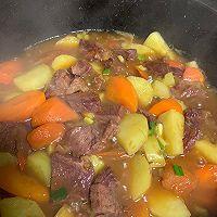 土豆胡萝卜炖牛肉的做法图解10