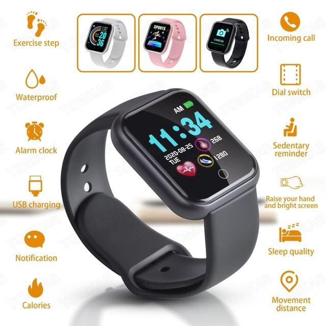 Smart Watch Men Women Smartwatch Android IOS Bluetooth Blood Heart Rate Monitor Fitness Bracelet Sport Wach Smart Watch 2020 1