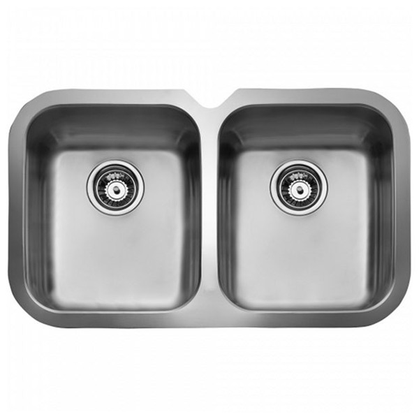 Sink With Two Basins Teka 10125150 BE 2C 765 Stainless Steel