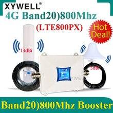 Amplificateur 4G B20 2G 3G 4G LTE GSM DCS UMTS, répéteur pour réseau de téléphonie mobile, 800/900/1800/2100mhz, nouveauté