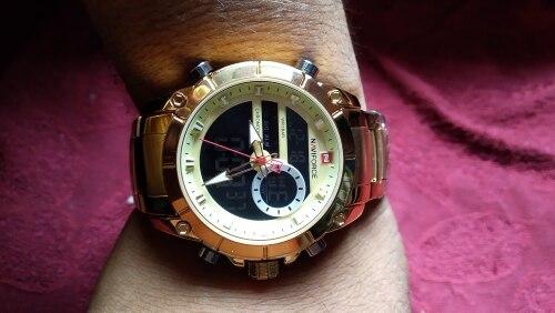 -- Exibição Masculino Relógios