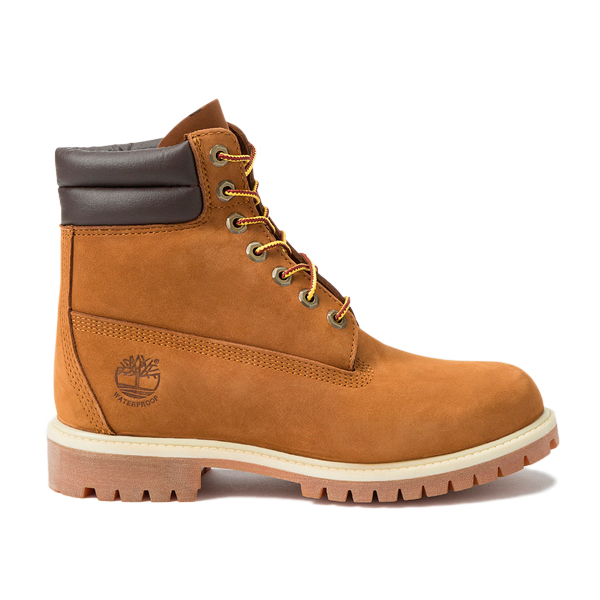 Men's boots Timberland 6 IN DOUBLE COLLAR Brown image