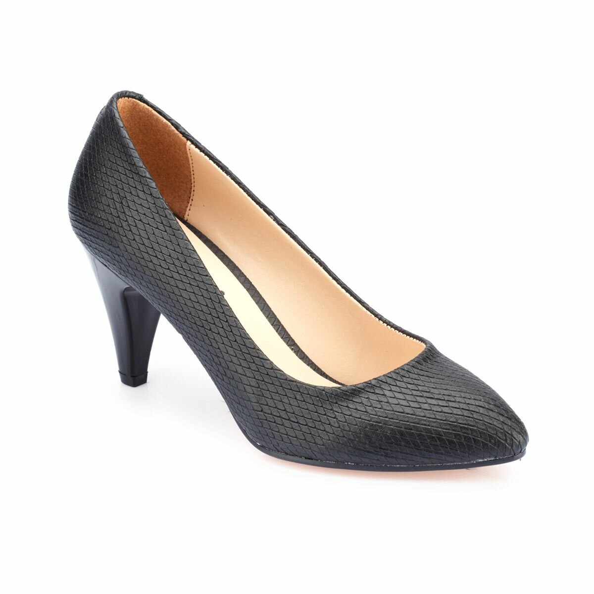 FLO 82.309022BZ Black Women Shoes Polaris