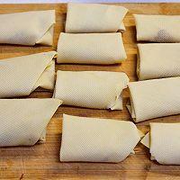 """#美食说出""""新年好""""#黄金豆皮卷的做法图解8"""