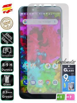 Protector para Xiaomi MI A2 Cristal Templado de Pantalla Vidrio 9H para movil