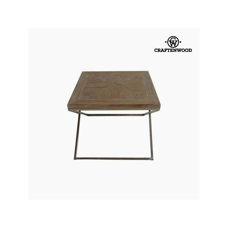 Side Table Teak Wood (60x60x49 Cm) By Craftenwood