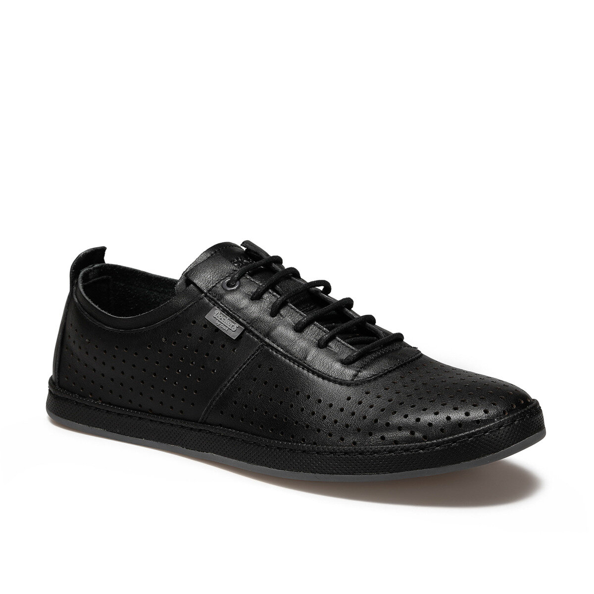FLO 226201 Black Men 'S Comfort Shoes By Dockers The Gerle