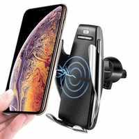 Car charging holder Smart Sensor S5 charging holder with wireless charging 5 V/2 A Type- C