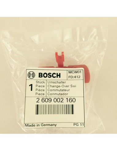 2609002160 Change-Over Switch,: Genuine BOSCH Spare-part