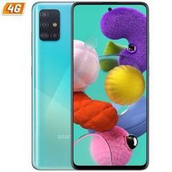 Мобильный смартфон SAMSUNG GALAXY A51 BLUE-6,5/16,5 CM - CAM смартфон Мобильная телефония