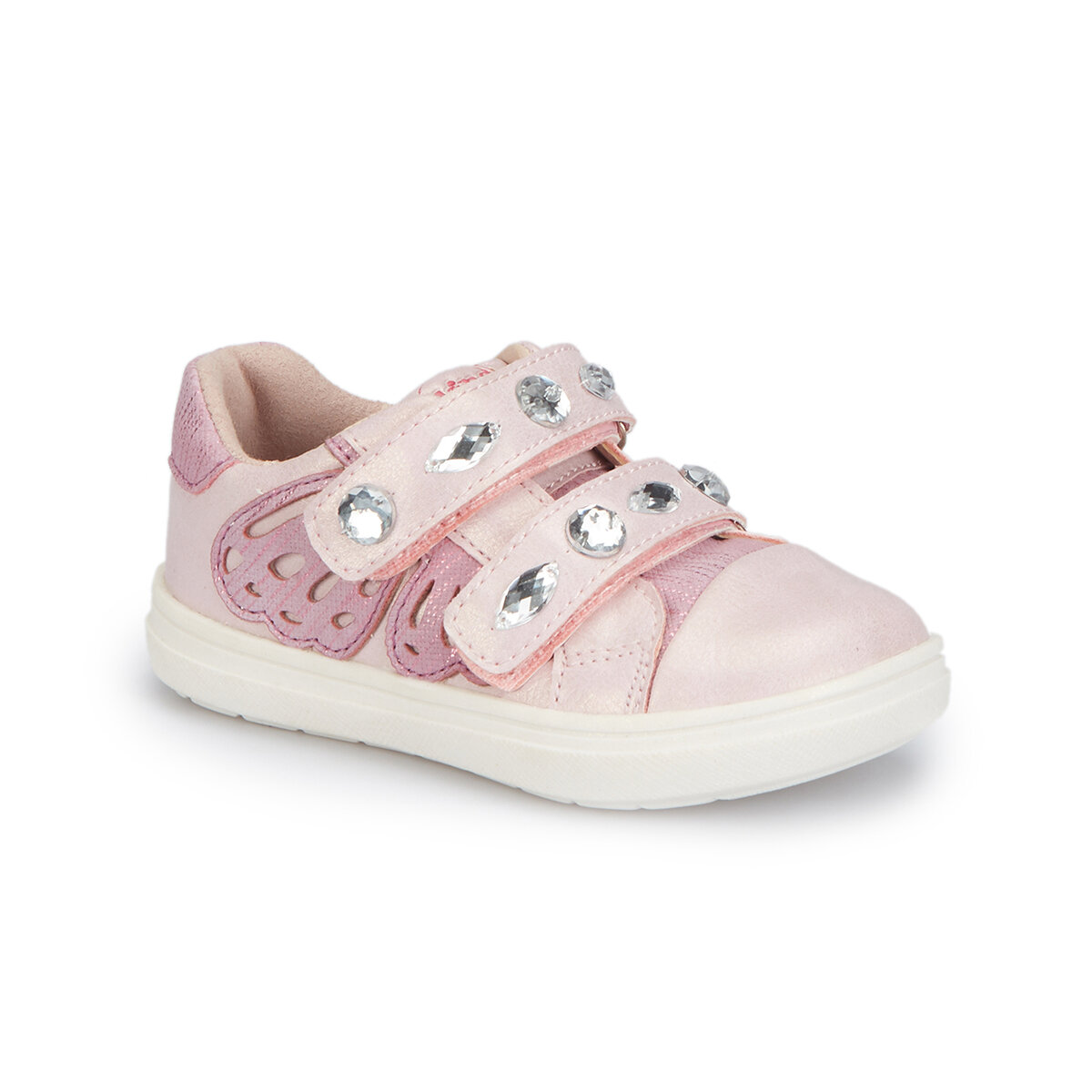 FLO 81. 510016.B Pink Female Child Sneaker Shoes Polaris