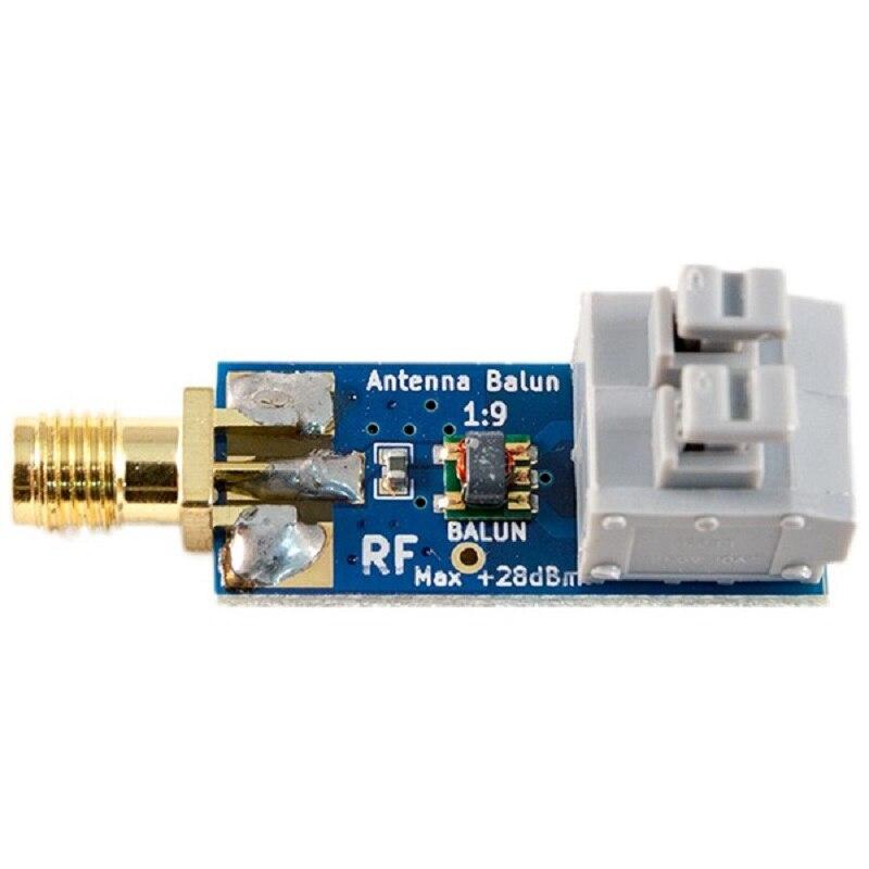 1:9 antena do hf balun um nove: faixa de frequência pequena do balun do baixo custo 1:9, antena longa do hf do fio RTL-SDR 160m-6m novo