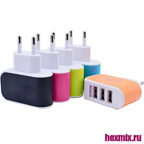 Charger For 3 USB Ports 5 V/3A