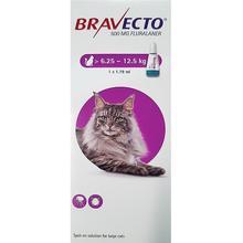 BRAVECTO CAT SPOT ON 1 PIPETA MSD 500 мг 6,25-12 кг