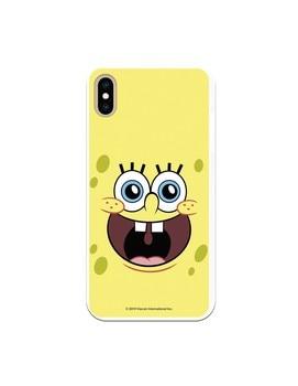 Funda para iPhone XS Max Oficial de Nickelodeon Bob Alegre - Bob...