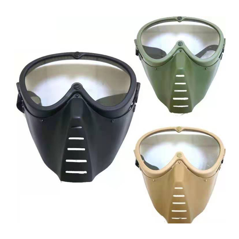 Tactical Mask Windproof Military Hunting Full Face Mask Cs Shooting Protect Mask