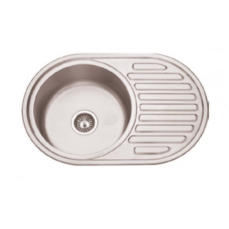Sink With Drainer With/without Hole Faucet Se7750