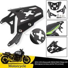 Motorcycle Top Rear Luggage Rack Carrier Fender Support for Kawasaki Ninja 650 Ninja650 ER6N ER-6N ER6F 2016 2015 2014 2013 2012 цены онлайн