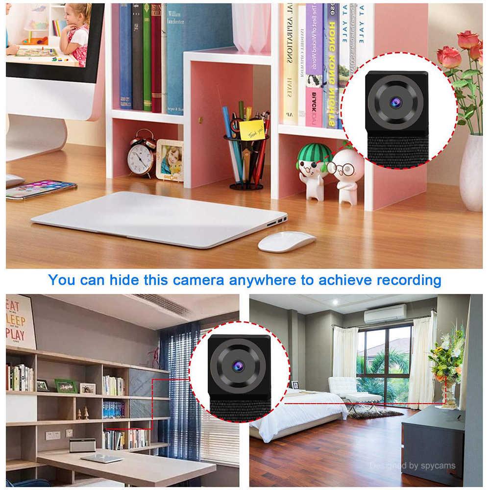 HD 1080P DIY portátil WiFi Mini cámara IP P2P inalámbrica Micro grabadora de vídeo/voz pequeña deporte DV soporte de Vista Remota tarjeta oculta