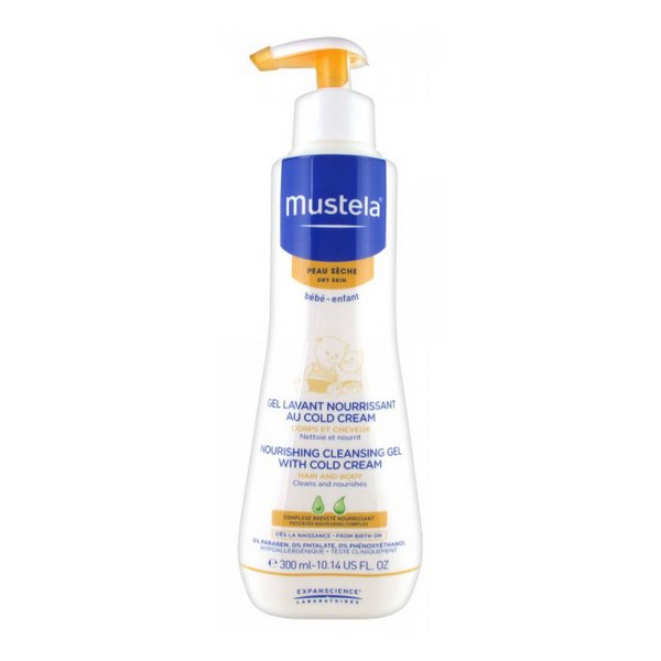 Shower Gel Bébé Mustela (300 Ml)