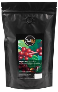 Свежеобжаренный coffee Ethiopia Sidamo Balé Mountain in grains, 500g