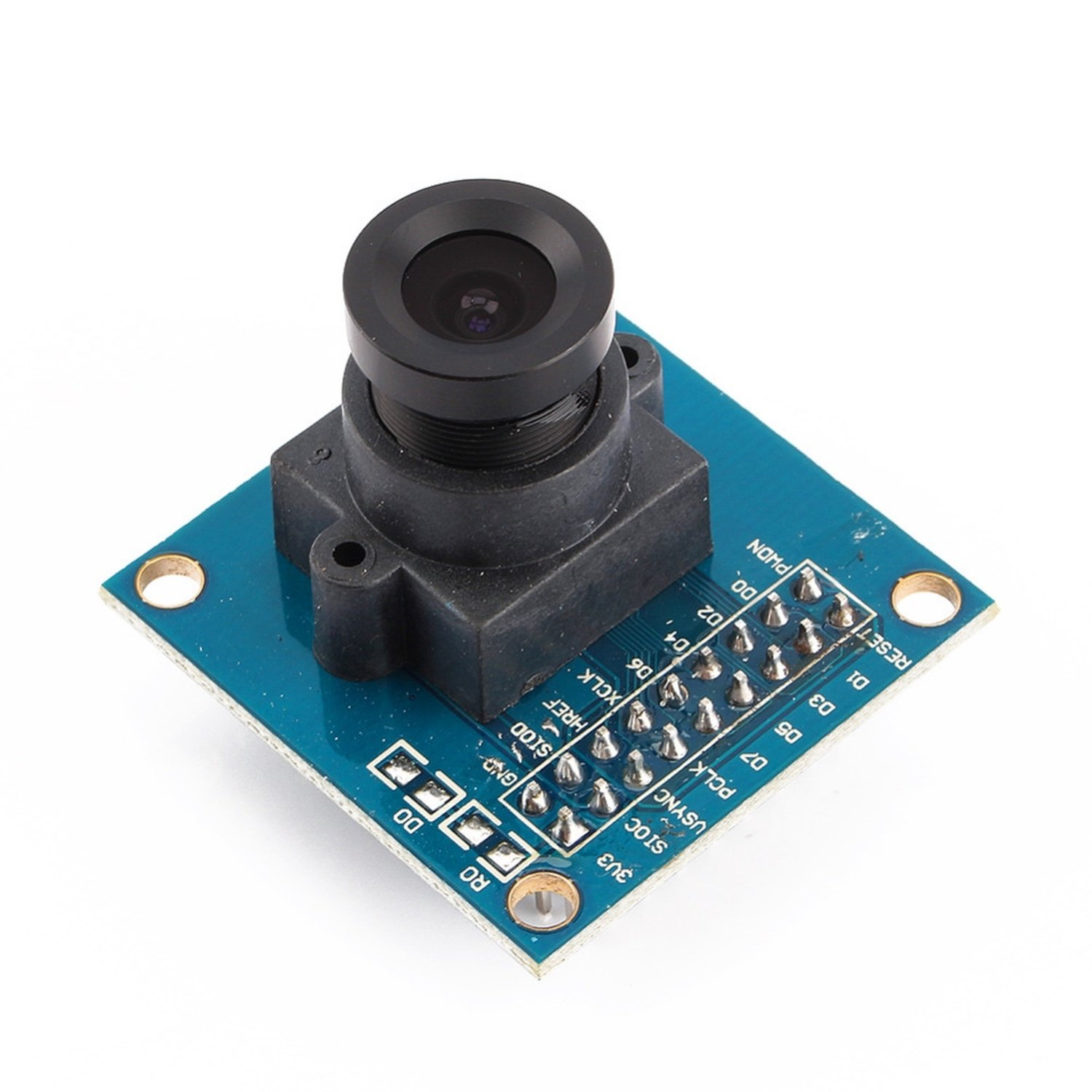 цена на VGA OV7670 Camera Module Lens CMOS SCCB Compatible W/I2C Interface 640X480 Support VGA CIF