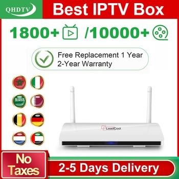 Leadcool IPTV Spain Arabic Algeria QHDTV IPTV Android 8.1 TV Box Rk3229 IPTV Germany Belgium Nederland IP TV No App Include qhdtv ip tv arabic netherlands france iptv box hk1 mini android 9 0 4g 128g bt dual band wifi iptv france arabic belgium qhdtv