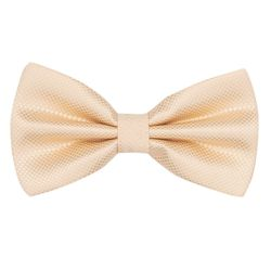 Bow tie for men (microfiber, beige) 53125