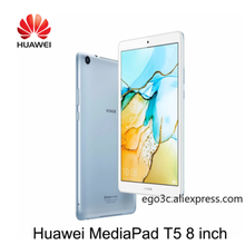 Original Huawei Mediapad T5 8 Huawei honor T5 8 pulgadas LTE/Wifi/3G/4G 32GB / 64GB OTG GPS cargador Octa Core Dual Cámara microS