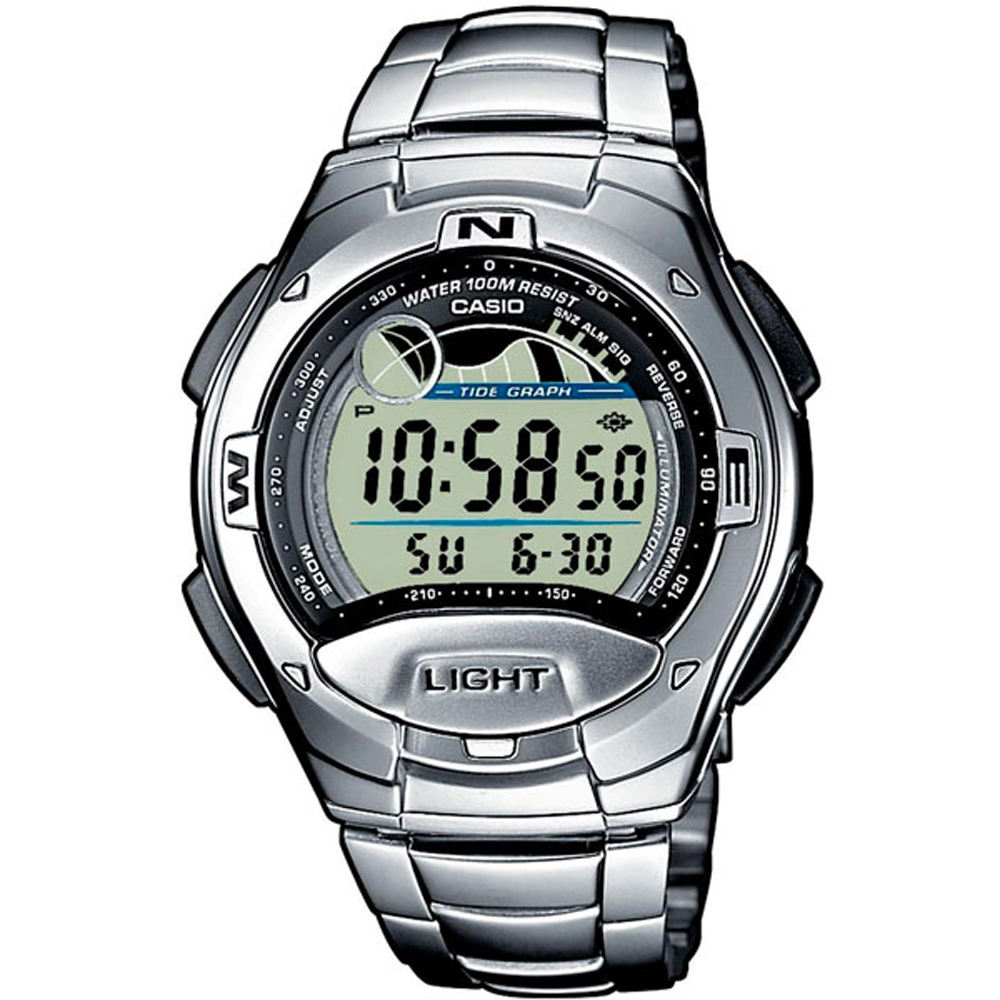 Casio W-753d-1a Men's Digital Wrist Watch