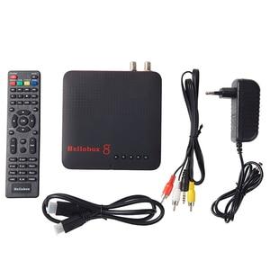 Image 5 - Hellobox 8 receptor de satélite digital h.265 hd completo 1080p dvb c DVB S2 DVB T2 combinação cccam receptor suporte tv jogar no telefone
