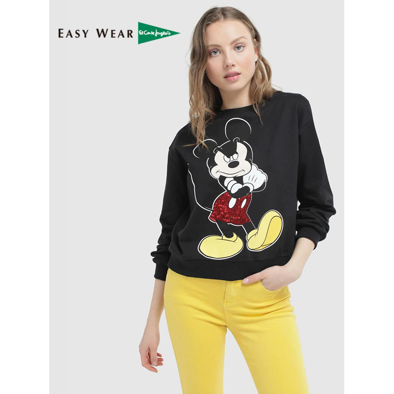 Izlaz Nejasan Inteligencija Sudadera Mickey Mouse Mujer El Corte Ingles Tedxdharavi Com