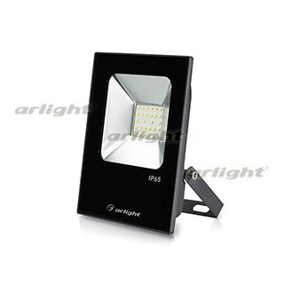 023573 LED Spotlight AR-FLAT-ICE-20W-220V White (Black, 120 Deg) ARLIGHT 1-pc
