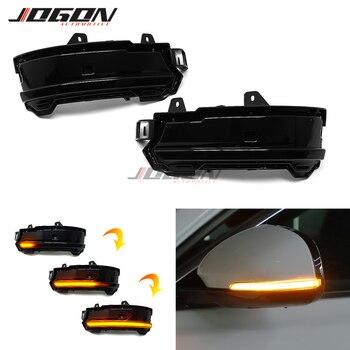 LED Dynamic Turn Signal Light Mirror Blinker For Land Rover Discovery Sport Range Rover Evoque Velar For Jaguar F-Pace E-Pace