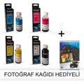 HP Photosmart 7510 e Alle in One Drucker 1 Anzug Photoink Tinte Foto Papier Geschenk|Fotopapier|Computer und Büro -