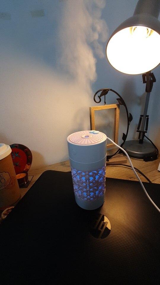 Incrível umidificador de ambiente e difusor de óleos com luz de led photo review