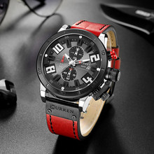 CURREN Men's Waterproof six-needle Calendar Business Watch men Fashion Sport reloj hombre Quartz watch relogio masculino reloj naviforce 2015 relogio reloj hombre nv1823528