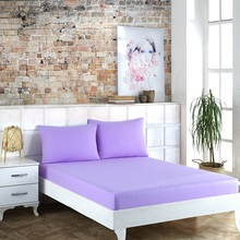 WEEKEND HOME, Queen Size Fitted Sheet Set / LILA