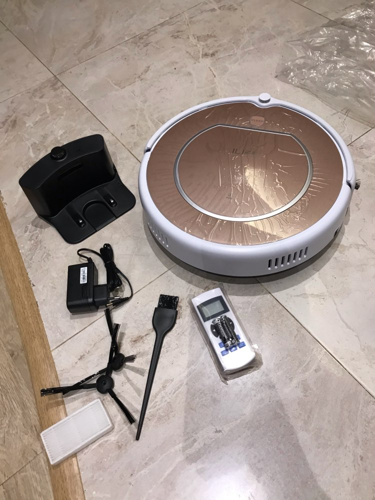 Robot vacuum cleaner iLife V50 pro with memory function quiet, powerful, route memory, 120 min work|Vacuum Cleaners| |  - AliExpress