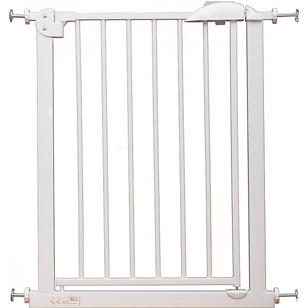 Barrier Gate For Doorway Safe XY-007A, 67-75 Cm White Metal