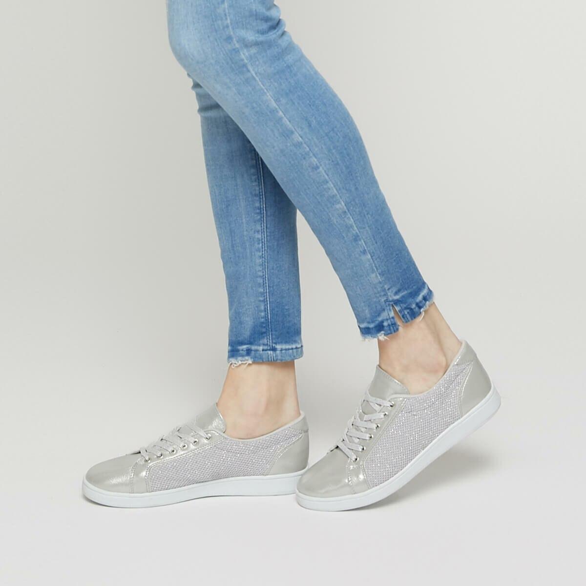 FLO CAPE Silver Women 'S Sneaker Shoes KINETIX