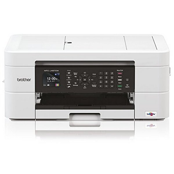 Multifunction Printer Brother MFCJ497DWZX1 WIFI 128 MB White