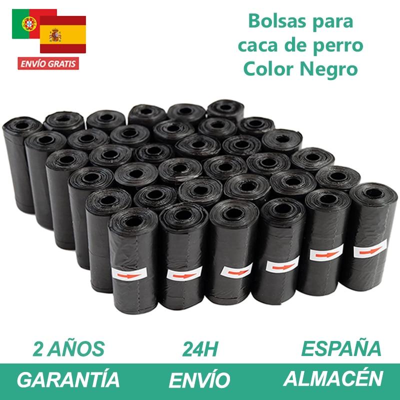 Perro Productos Bolsas Perro Bolsa Caca Perro Bolsas Biodegradables Para Mascotas 600/1200/2400 Unidades Multicolor Bolsitas