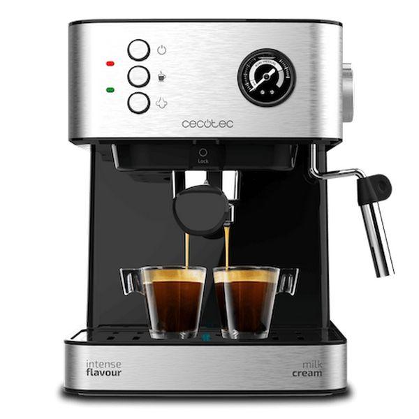 Express Manual Coffee Machine Cecotec Power Espresso 20 Professionale 1,5 L Silver Black