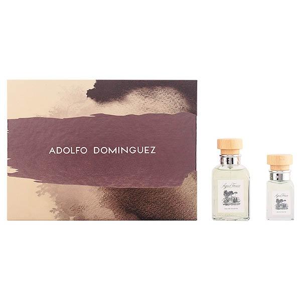 Men's Perfume Set Agua Fresca Adolfo Dominguez (2 Pcs)