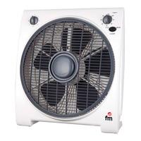 Floor Fan Grupo FM BF4 45W White Fans     -