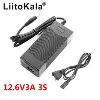 Carregador de energia 12.6 v 3a  carregador de 12.6 v para a bateria do cctv  carregador 3a para a bateria de lítio 12 v 18650 carregador|12.6v charger|charger for|12.6v 3a -